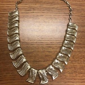 Vintage Coro Gold Tone Necklace